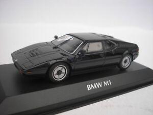 BMW-M1-1979-Negro-1-43-Maxichamps-940025021-Nuevo