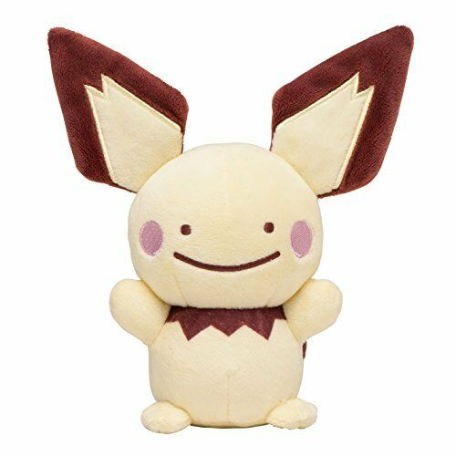 Pokemon Center Original Muñeco De Peluche Gallina metamon Pichu Japón