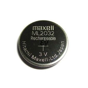 New-Genuine-for-Maxell-ML2032-ML-2032-Rechargeable-3V-Coin-Cell-Battery