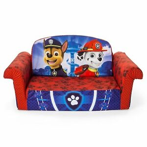 Image Is Loading Paw Patrol Kids Sofa Bed Chair Couch Toddler