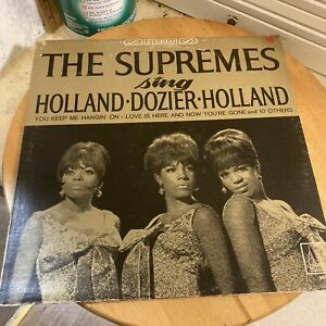 Collectible LP The Supremes  sing Holland - Dozier - Holland Motown 1966