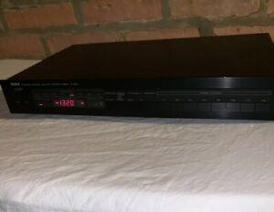 Vintage-1980s-Yamaha-Natural-Sound-AM-FM-Stereo-Tuner-T-520-Blk