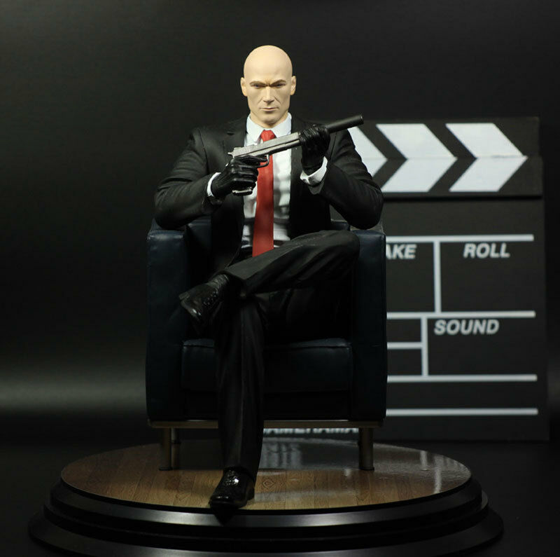 1 6 HITMAN Agent 47 Collector's Edition  Chessmaster  Statue Figure