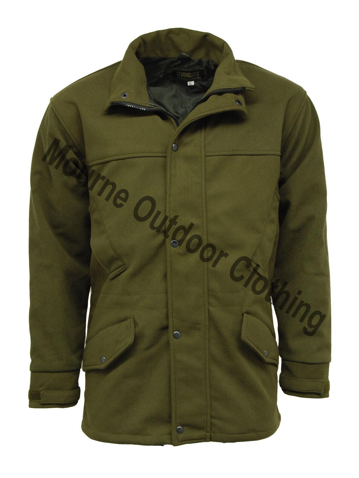 Stormkloth Moss Grün Waterproof Hunting jacke Breathable Shooting Coat
