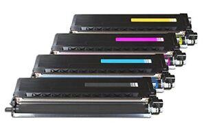 4x-Toner-Rebuilt-Compatible-BK-C-M-Y-Ensemble-Pour-Brother-hl-l9310cdw-mfc-l9570-l9507