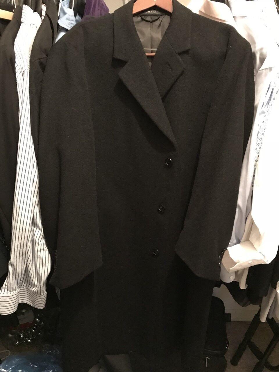 Perris Ellis Portfolio Mens Wool Trenchcoat 48R