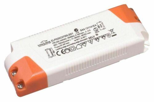 Eaglerise ELP020C0700LSD1 TRIAC dimmbar LED Netzteil Trafo Treiber 20W 700mA