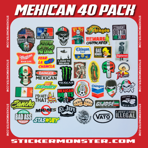 MEXICAN-CHINGON-Hard-Hat-Stickers-40-MEXICO-HardHat-Sticker-Pegatinas-cascos