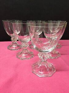 6-verres-en-cristal-Modele-YALE-uni-H-122-mm-VAL-SAINT-LAMBERT
