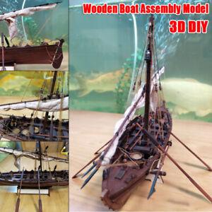 1-32Scale-Wooden-Sailboat-Whaling-Ship-Model-DIY-Assembly-Kit-Birthday-Xmas-Gift