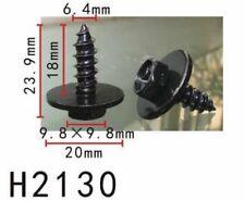 TRUNK 10PCS AUTOBAHN88 BUMPER FENDER 15mm Long Self Tapping Screw Fit TOYOTA