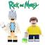 RICK /& MORTY Minifigure Lego nuovi Netflix