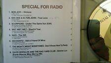 COMPILATION - PROMO PHONOGRAM FOR RADIO ( BON JOVI SCORPIONS INCOGNITO. . ) CD