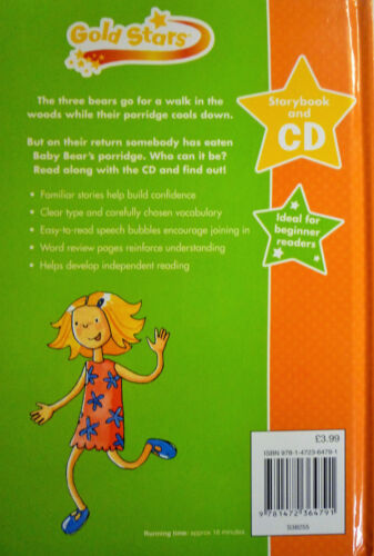 Goldstars Fairy Tale Early Reading Hard Back Book Storybook /& CD 7 to Collect