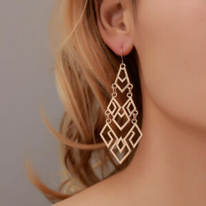 Fashion-Women-Drop-Jewelry-Holiday-Tribal-Ethnic-Hollow-Hook-Earrings-Party-Gift