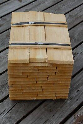 Vorsichtig Holzschindeln Fichte 40cm Gespalten Holzschindeln Gartenhaus Vordach Spielhaus Ausreichende Versorgung Sonstige