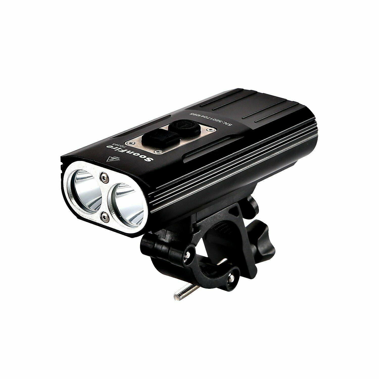 Soonfire FD38S faro per bici'faretto luce per bici ricaricabile via USB Super...