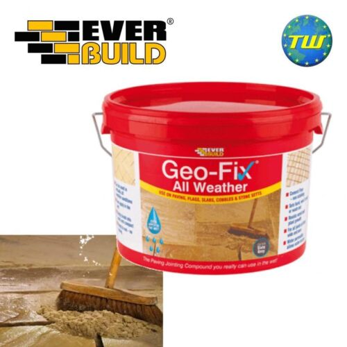 Everbuild GeoFIX All Weather Patio Slab Paving Jointing Compound Stone 14Kg