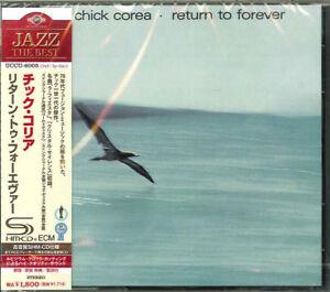 CHICK-COREA-RETURN-TO-FOREVER-JAPAN-SHM-CD-D50