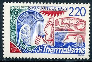 STAMP-TIMBRE-FRANCE-NEUF-N-2556-LE-THERMALISME
