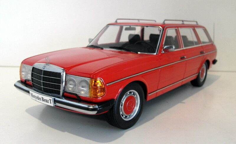 KK 1 18 Scale resin - KKDC180092 Mercedes Benz W123 T model rot