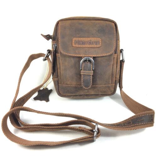 Leder Schultertasche Messenger Essentials Tasche Herren Hip Bag Bauchtasche