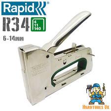 Rapid R34 (140) Heavy Duty Stapler/Staple Gun/Tacker