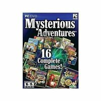 16 Pc Games Jewel Quest Solitaire Ii Iii Mahjongg Quest Magic Academy &more