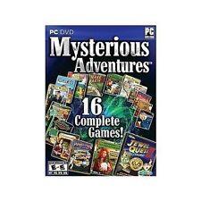 16 NEW PC Games  Jewel Quest Solitaire II III Mahjongg Quest Magic Academy &More
