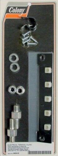 Colony Machine #9639-22 Electrical Terminal Plate Harley FL FX 1970-77 OEM 72300