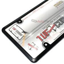 Kunststoff Schwarz Nummernschild Rahmen + Klar Tough Shield Hülle für Car-Truck