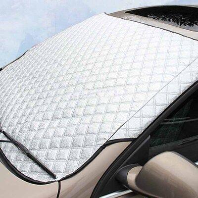 Parabrezza Auto Copertura Parasole,Protezione Parabrezza Auto Resistente Alla Luce Solare e Alla Luce Solare Antigelo Alluminio