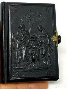 Gebetbuch & Songbook Pius Übungen & 1848 & Ebonite & Großer Mantrarolle & Buch