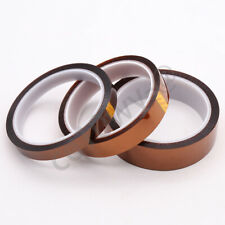1 Roll 18mm High Temperature Polyimide Kapton Tape Adhesive Heat Resistant 33m