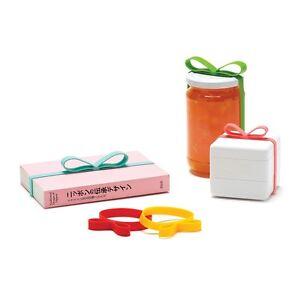 Geschenkband-Silikon-Gifted-Monkey-Business-10er-Set-bunt-gemischt-Schleifen