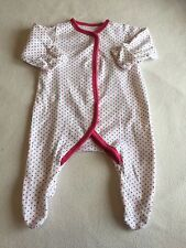 Tiny Baby Girls Clothes - Cute BabyGrow Sleepsuit-
