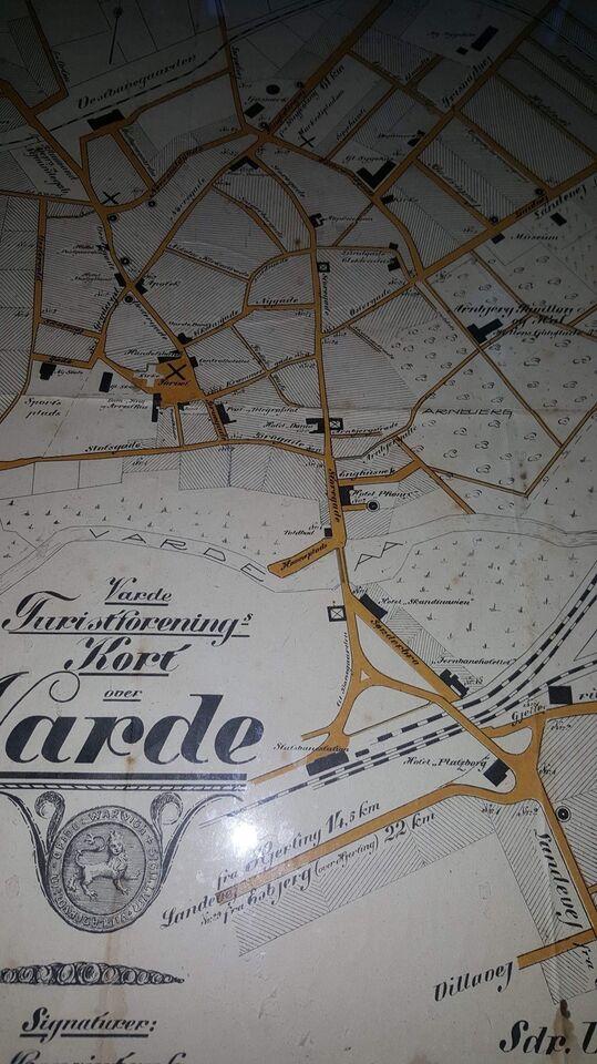 Landkort, Varde