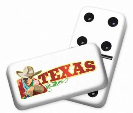 Professional Size Double 6 Cowboy Dominoes