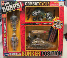 The Corps 2-man Bunker Position W/grenade Launcher & Combat Cycle Lanard