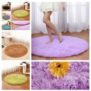 4 Feet Round Area Rugs Ultra Soft Mat For Living Room Bedroom Home
