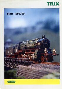 Trix-Stars-1998-1999-Prospekt-Modelleisenbahn-brochure-model-railway-Modellbahn