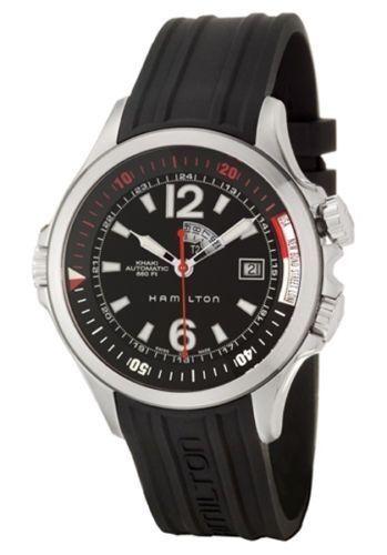 Hamilton Khaki Navy Gmt Diver Men S 42 Mm Automatic Watch H77555335