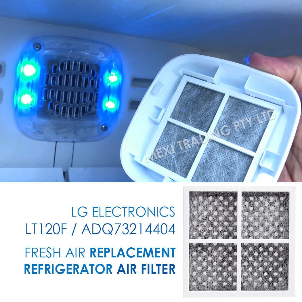 2X 2X 2X LG GENUINE FRIDGE FILTER FOR GF-5L712PL + LG AIR FILTER LT120F 243790