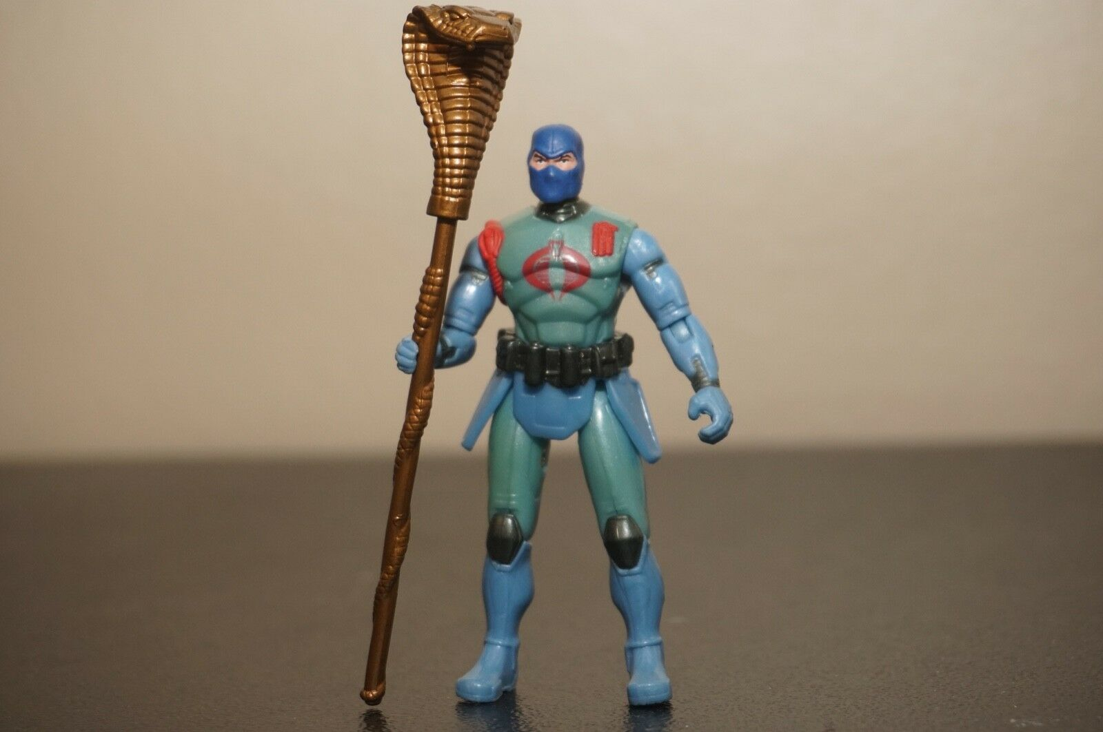 GI Joe Unreleased Cancelled Robot Rebellion Cobra Commander Prototype Rare
