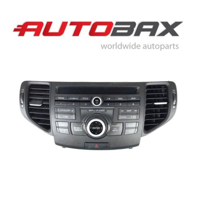 2009-2010 ACURA TSX RADIO CD PLAYER NAVIGATION CONTROL