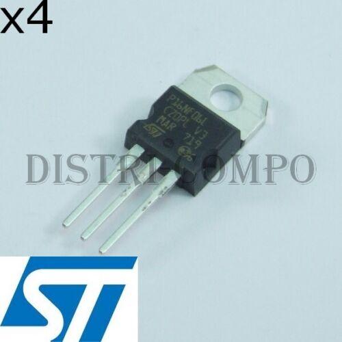 STP16NF06L Transistor Mosfet N 60V 16A TO-220 STM RoHS lot de 4