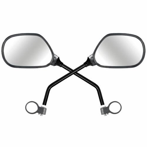 für rechts und links PEARL 2er-Set Fahrrad-Rückspiegel mit Lenkerhalterung
