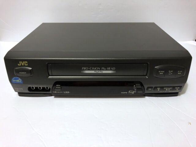 JVC HR-VP650U VHS Player/Recorder No Remote TESTED