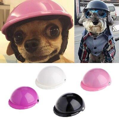 Pet Ridding Safety Helmet Cap Dog Cat Costume Accessory Bike Motorcycle Helmets