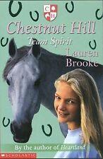 Team Spirit (Chestnut Hill), Lauren Brooke, New Book